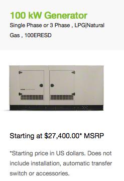 100 kW Generator-1