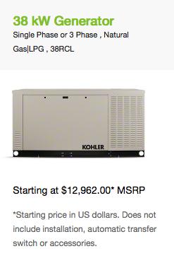 38 kW Generator
